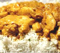 receta de Pollo al curry II