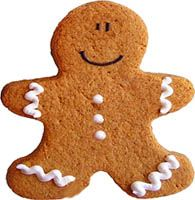 receta de Gingerbread man