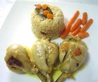 receta de Pollo al curry  V