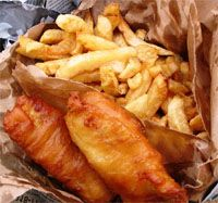 receta de Fish & Chips